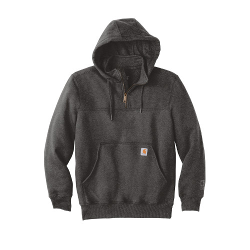 Carhartt Rain Defender Paxton Hooded Zip Mock Sweatshirt '1/4 zip