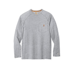 Carhartt Force Cotton Delmont Long Sleeve Tee