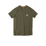 Carhartt Force Cotton Delmont Short Sleeve Tee