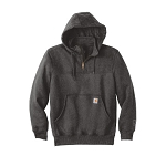 Carhartt RainDefender Paxton Heavyweight Hooded Zip Mock Sweatshirt