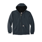 Carhartt RainDefender Rutland Thermal Lined Hooded Zip Front Sweatshirt