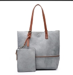 Two Tone Tote - 2 in 1 Pouch