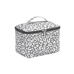 Patterned Cosmetic Bag- Large